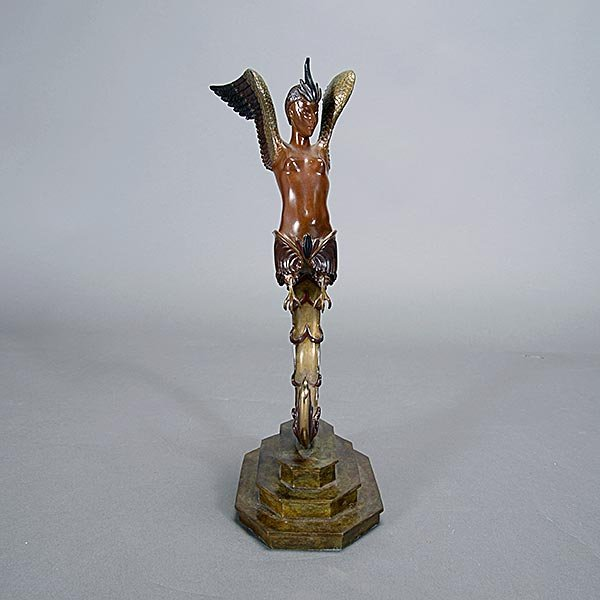 ERTE BRONZE SCULPTURE, Firebird, Russian Art - 4