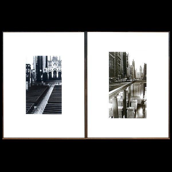 SCOTT MUTTER Lot of 2 photographs New York
