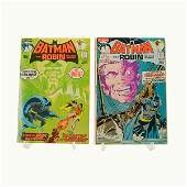 Batman #232, 234, Neal Adams, 1st Ra's Al Ghul, Two