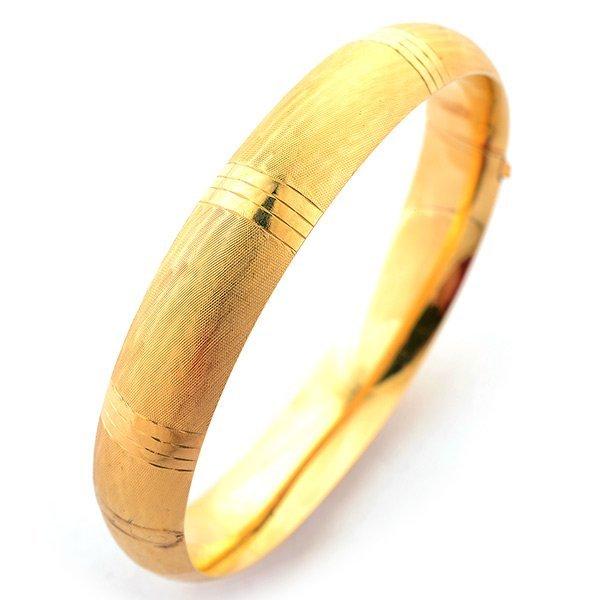 14k Yellow Gold Bracelet.