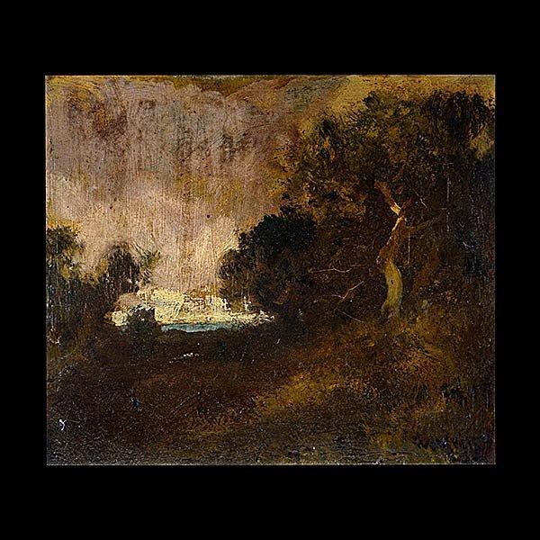 WILLIAM KEITH California Landscape Oil on canvas