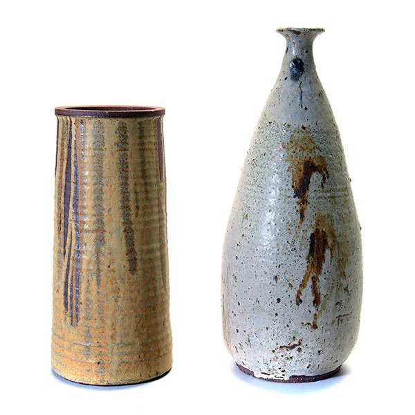 Two Studio Vases.