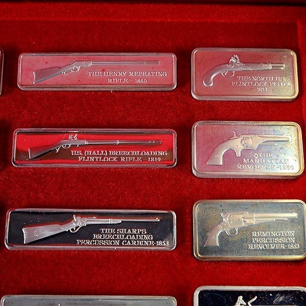 Silver Ingot Collection, American Weapons Hall of Fame, - 3