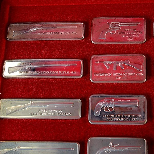 Silver Ingot Collection, American Weapons Hall of Fame, - 5