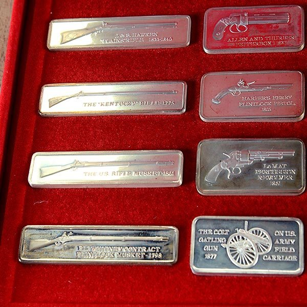 Silver Ingot Collection, American Weapons Hall of Fame, - 6