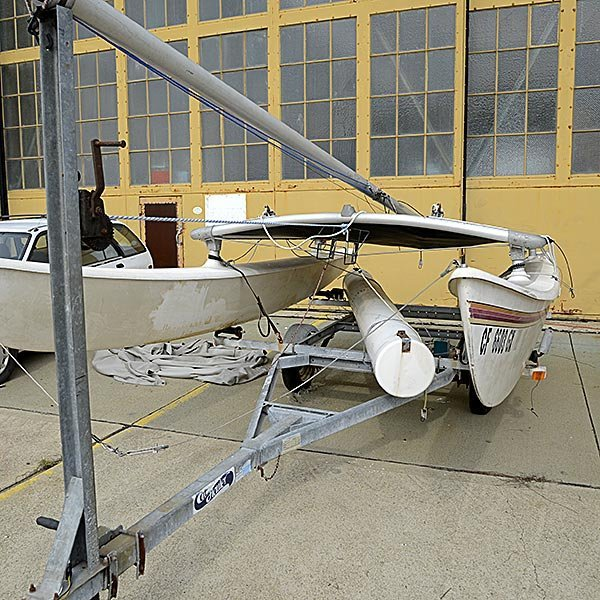 1981 16 ft. Hobie Cat with Trailer - 3