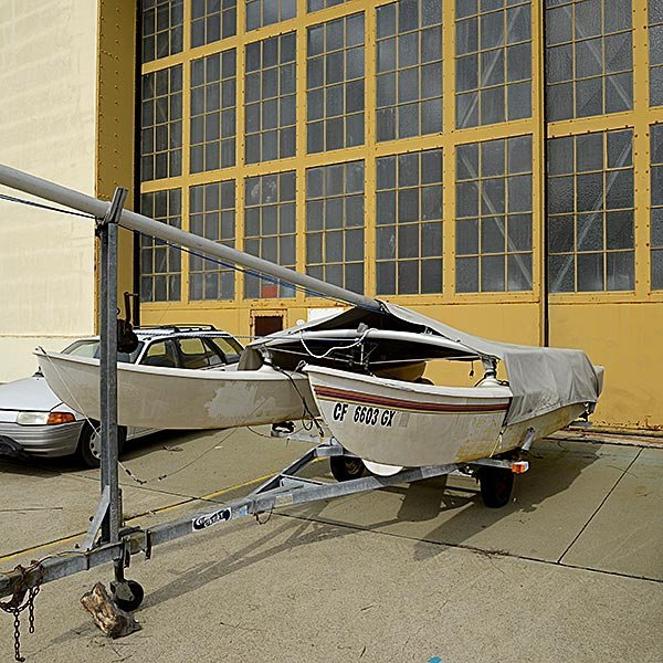 1981 16 ft. Hobie Cat with Trailer - 7