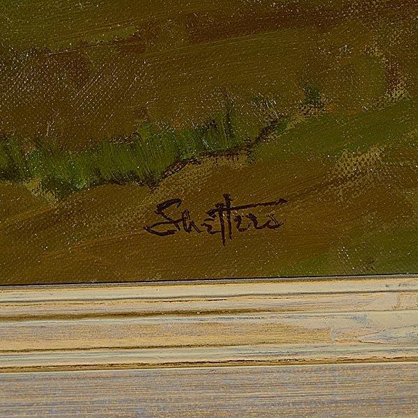 PETER SHEFFERS Oregon Landscape Oil on canvas - 2
