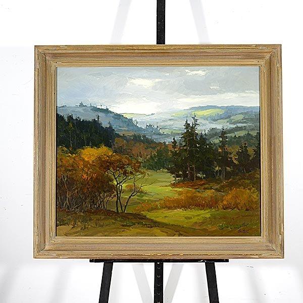 PETER SHEFFERS Oregon Landscape Oil on canvas - 4