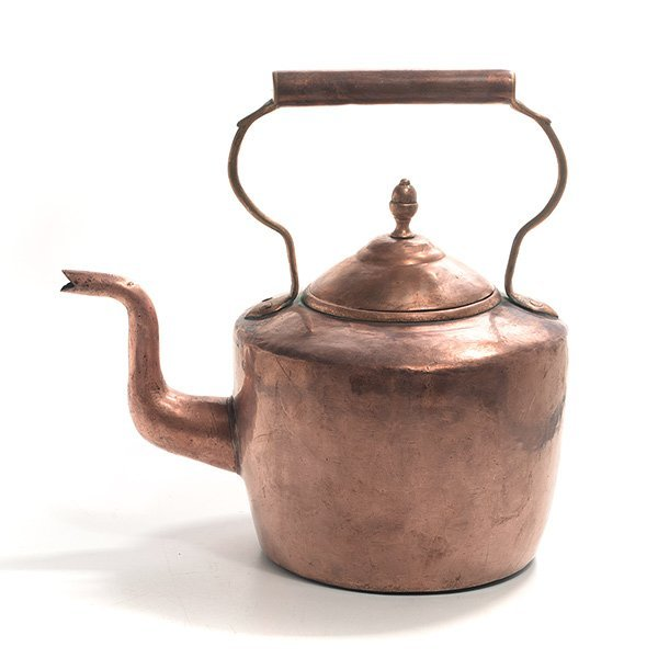 Maurice Cohen & Co. English Copper Kettle, 19th Century