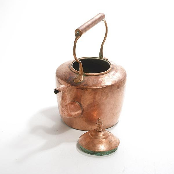 Maurice Cohen & Co. English Copper Kettle, 19th Century - 2