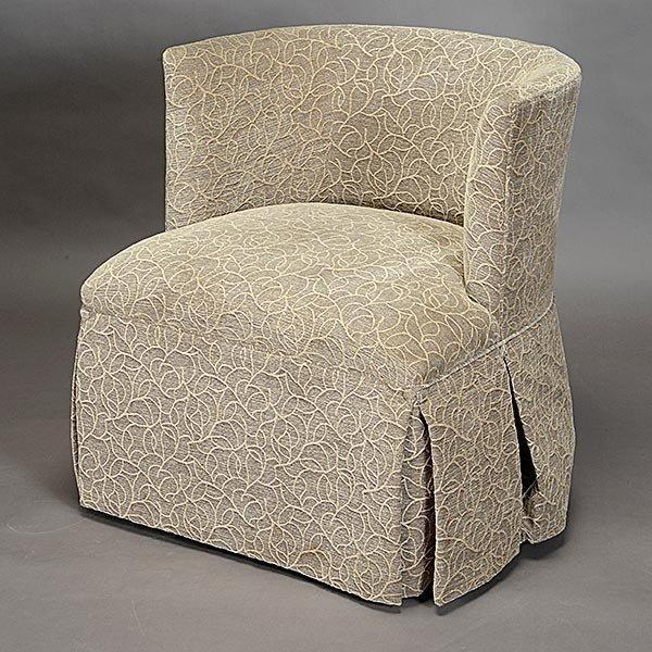 Pair of Kravet Upholstered Swivel Club Chairs - 2