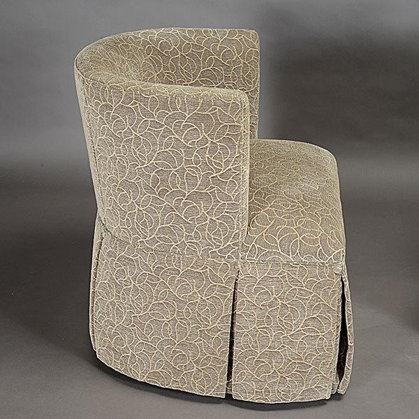 Pair of Kravet Upholstered Swivel Club Chairs - 3