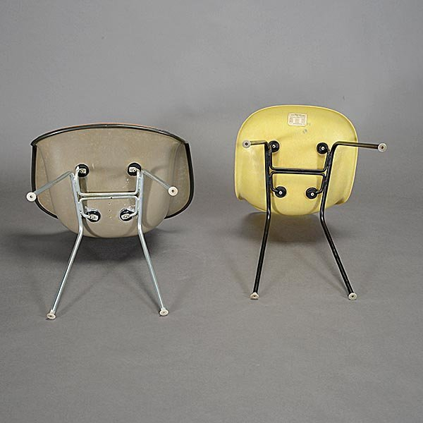 Herman Miller Eames Bucket Chair and Shell Chair - 4