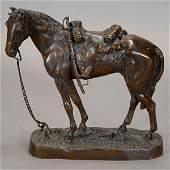 Carl Kauba Bronze of a Horse