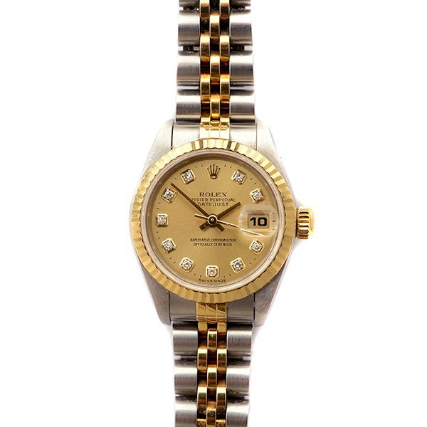 Ladies Rolex Oyster Perpetual Datejust Stainless Steel