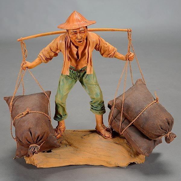 Chan Liumiao (b. 1946): Chinese Figure