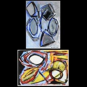 Salvador Gonzales-esculona Cuban Abstract Art