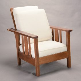 Oak Mission Style Chair