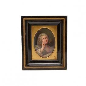 After Guido Reni (italian 1575-1642) Porcelain Plaque