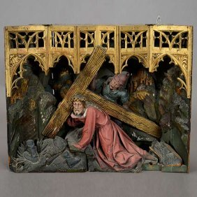 Stations Of The Cross Niche Panel