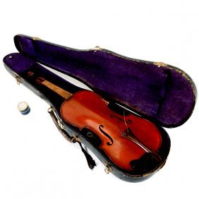 French Vuillaume Violin With Case