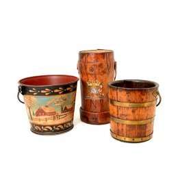 Collection Of Three Buckets