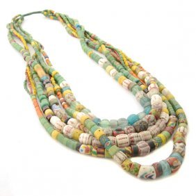 Paiwan Glass Bead Necklace.