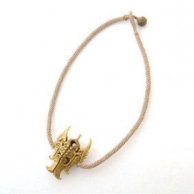 Borneo Metal, Cord Necklace.