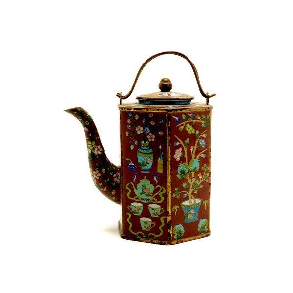 A CloisonnÈ Enamel Teapot
