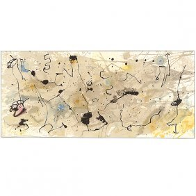 "After Joan Miro ""graphismes"" Color Lithograph."
