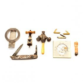 Collection Of Novelty Miniature Items
