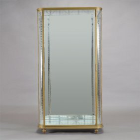 Glass Vitrine Cabinet