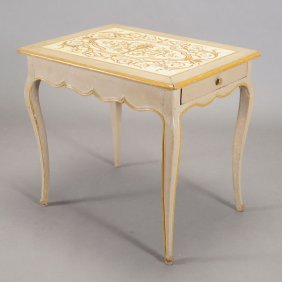 French Provincial Style Single Drawer Table