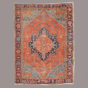 Heriz Carpet: 8 Feet 9 1/2 Inches X 11 Feet 9