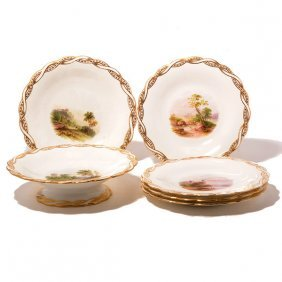 Minton Hand Painted China Service