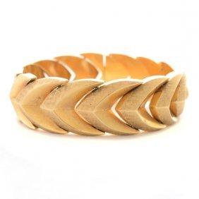 Retro 14k Yellow Gold Bracelet.