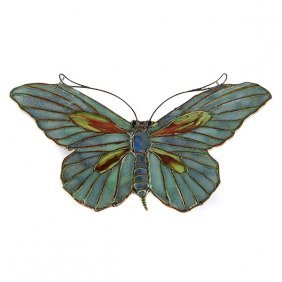 Tiffany Studios Butterfly Lamp Pendant