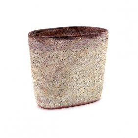 Beatrice Wood Volcanic Glaze Vase (signed Beato)