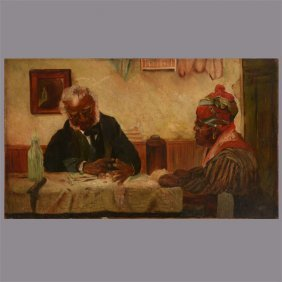 "19th Century ""butler And His Wife"" African American"
