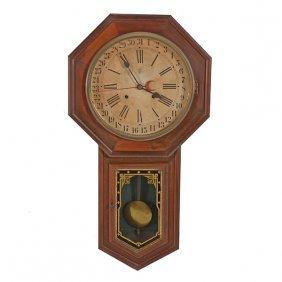 Waterbury Calendar Clock
