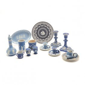 Collection Of 19th Century Wedgwood Jasperware