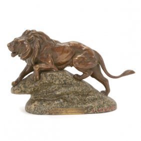 Clovis Edmund Masson (french 1838-1913), Bronze Figure