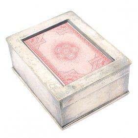 Will & Flinck Gambling Faro Card Dealer's Box