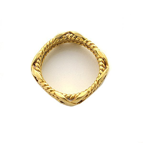Tiffany & Co. Schlumberger 18k Yellow Gold Band. - 3