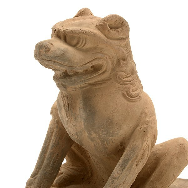 A Pottery Figure of a Guardian Lion, Five Dynasties - 7