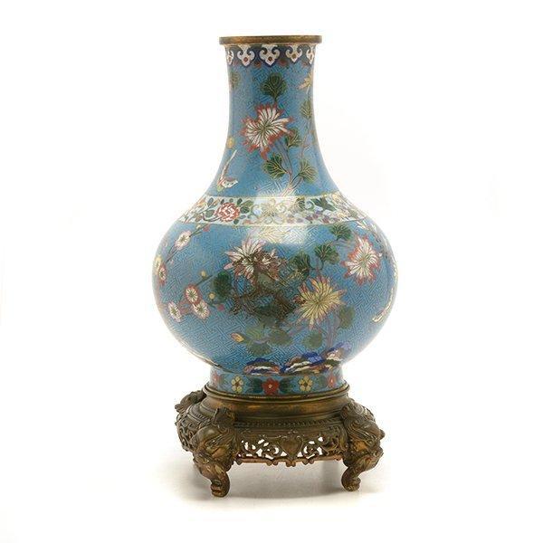 A Cloisonn Enamel Vase, Late 18th/Early 19th C. - 2