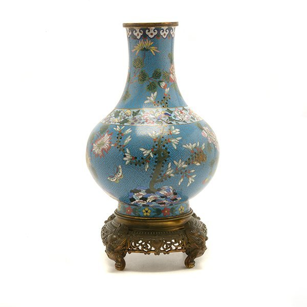 A Cloisonn Enamel Vase, Late 18th/Early 19th C. - 5