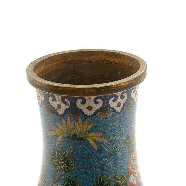 A Cloisonn Enamel Vase, Late 18th/Early 19th C. - 6
