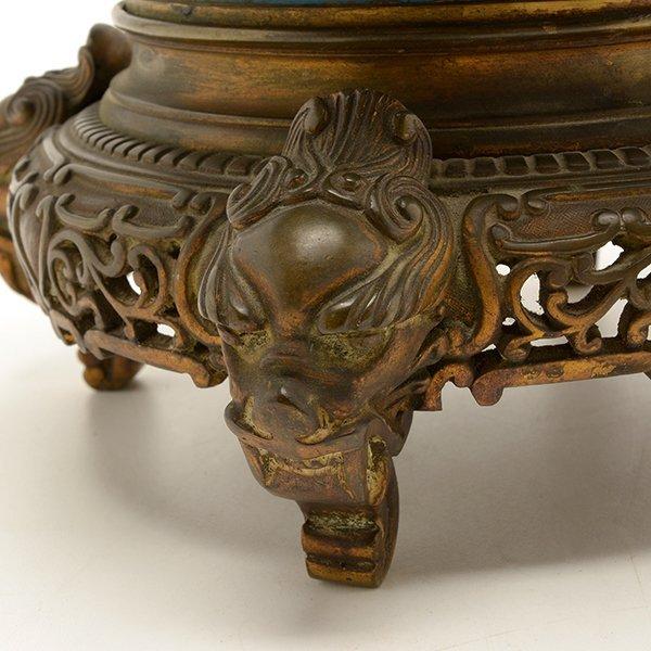 A Cloisonn Enamel Vase, Late 18th/Early 19th C. - 7